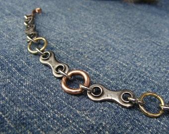 Multicolored Bikey Bracelet