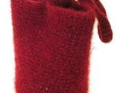 Felted iphone Wristlet Bag Crochet Pattern PDF  - permission to sell what you make