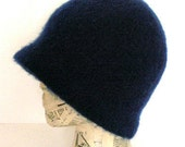 Felted Cloche Hat Crochet Pattern PDF - permission to sell what you make