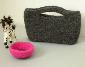 Crocheted Felted Clutch Purse Pattern PDF - permission to sell what you make