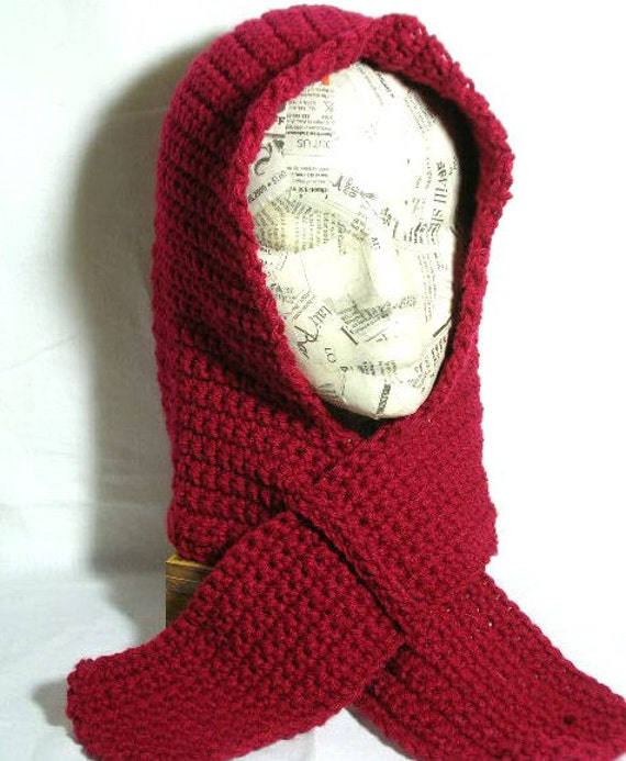 nordic hooded scarf crochet pattern pdf