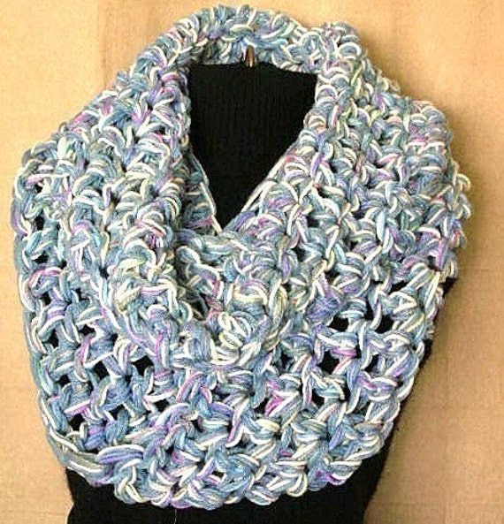 The Biggie Circle Scarf Crochet Pattern PDF EASY - permission to sell what you make
