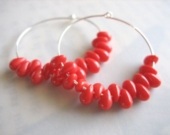 Roe Hoop Earrings