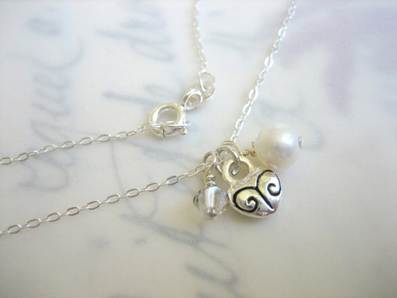 First Crush Petite Charm Necklace