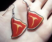 T bone Steak Earrings