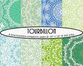 TOURBILLON - Digital Paper Set - Buy 3, Get 1 Free
