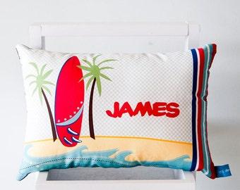 Surfs Up personalised Cushion - Boys