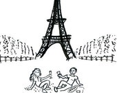 Drawings of Paris