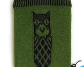 Owl iPad knitted case