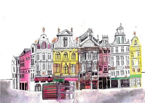Brussels 5 x 7 Print