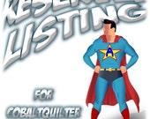 Etsy Business Starter Kit - Reserve Listing for Cobaltquilter