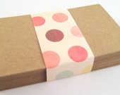Kraft Paper Business Cards (50) - DIY