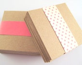 Square Tags (100) - Kraft Paper - 2 inch - No Holes