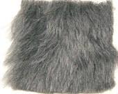 1 yd. Slate Grey Faux Fur