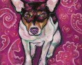 Rat Terrier  Print
