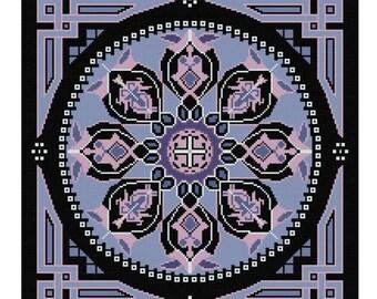 Squaring the Circle Celtic inspired cross stitch pattern PDF