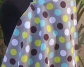 Nursing Cover -Gray Dot