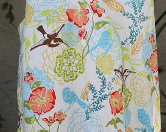 Nursing Cover-Avalon Birds Free Shipping on Second Item