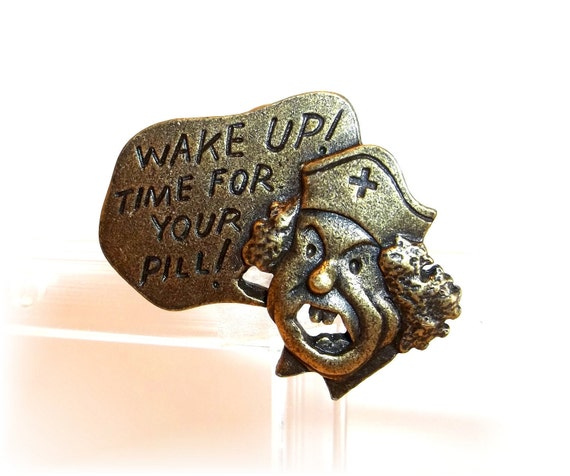Nurse Hospital pin  JJ Artifacts  brooch