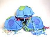 Blue Stuffed Jellyfish Plush READY TO SHIP