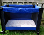 2 Boys Pack N Play Sheets....RESERVED