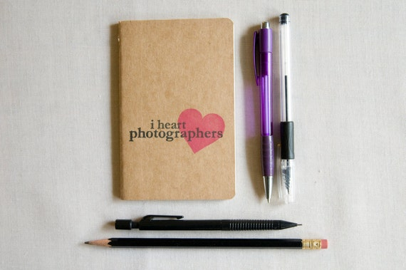 I heart Photographers- Notebook
