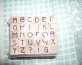 Tiny Alphabet Stamp Set