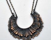 Mohawk Double Necklace
