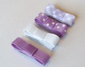 Newborn Clips Purple Picnic SALE