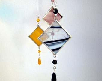 Pick your Color  -  Stained Glass Light Catcher Suncatcher