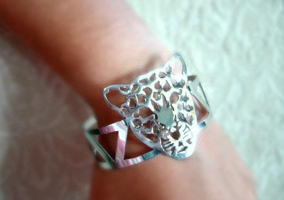 high grade Stainless Steel LEOPARD cuff bracelet ( FREE SHIPPING)