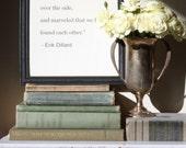 framed valentine quote by Erik Dillard