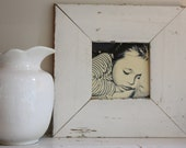 Chunky reclaimed wood picture frame square