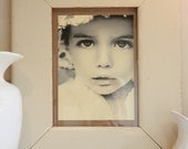 Chunky reclaimed wood picture/photo frame