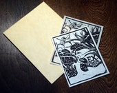 CUSTOM LISTING for NORA: Curious Beetle Bookplate Set of 15
