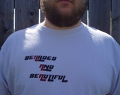 Bearded and Beautiful t-shirt