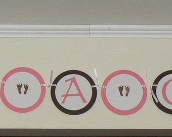 Baby Shower, It's a GIRL banner