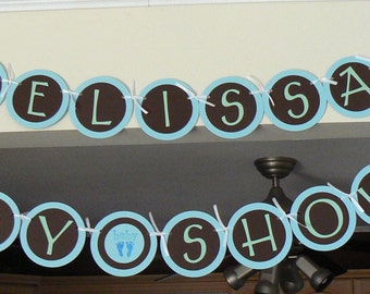 CUSTOM, Baby Shower banner, Baby Shower