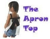 Momma's Darlin's Apron Top Pattern sizes 2T-6