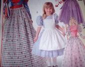 Alice In Wonderland little girl dresses ,6,7,8,or 10 will ship for halloween