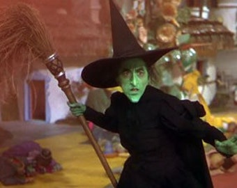 Replica of the Wicked Witch from the West costume Oz Custom Made to your Measurements