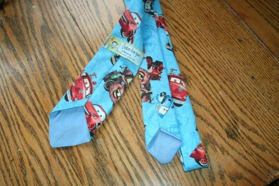 Cars Cartoon Men's or Ladies Neck Tie