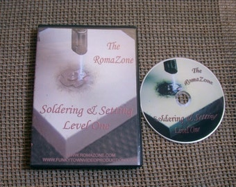 Soldering and Setting Level I DVD - Learn To SOLDER with Me
