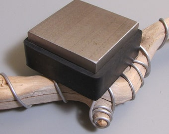 Steel block rubber bench pounding pad  in 1 tool  - ingenious