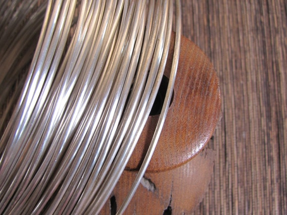 1 foot of 11 gauge half Round sterling silver wire, great for rings and all sorts of things