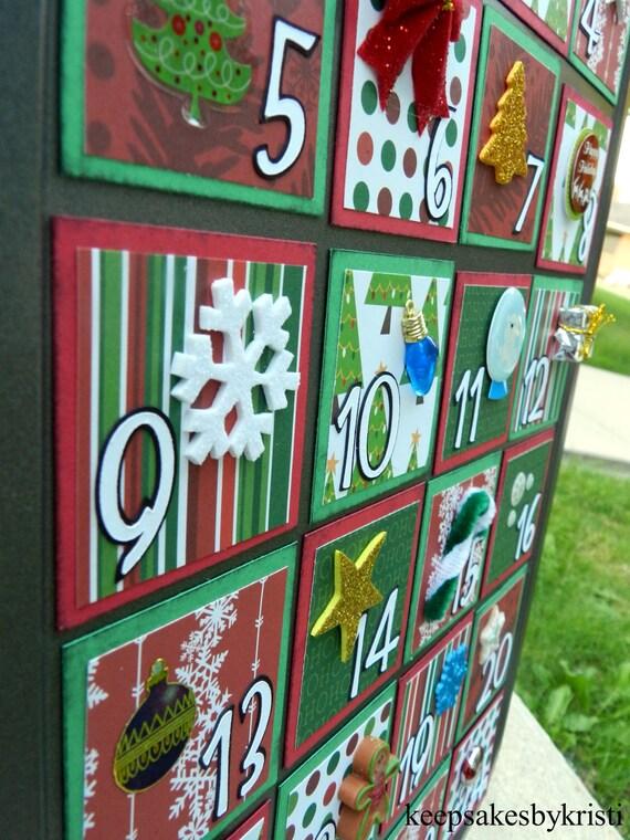 Kid Friendly Muffin Tin Christmas Advent Calendar-CLASSIC HOLIDAY Kit