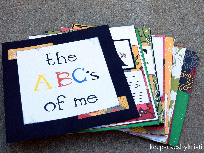 Scrapbook ideas abc album -  abc scrapbook album pages zoom