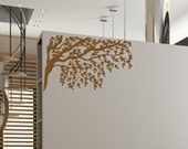 Gorgeous Tree Branches and Leaves Vinyl Wall Decal