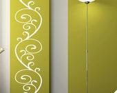 Flourish Design Vinyl Wall Decal Large