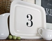 9 Custom Letter and Number Decals as seen on The Lettered Cottage - Set of NINE Number Vinyl Wall Decals - Made in the USA -